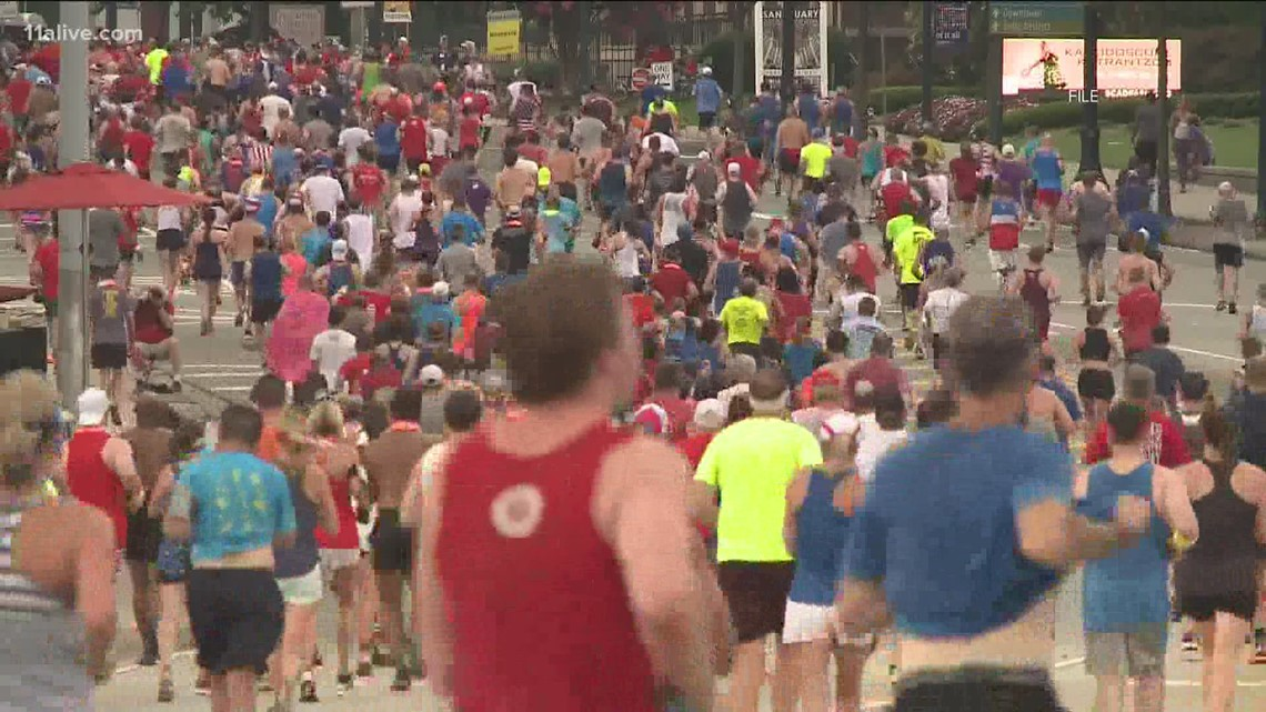 Will the AJC Peachtree Road Race require proof of COVID vaccination or negative test?