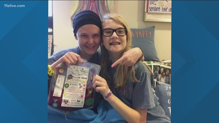 Woman wants to become a nurse after battling leukemia as teen, overcoming odds