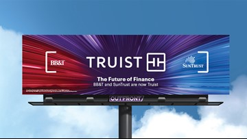 Truist, formerly SunTrust and BB&T, reveals its identity and logo