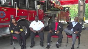 These Fulton County fire chiefs made history