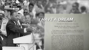 Dr. King gave 'I Have a Dream' speech 56 year ago today