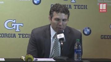 Georgia Tech Basketball Coach Josh Pastner talks about loss to Duke