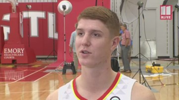 Hawks Kevin Huerter looking to get stronger in Year 2