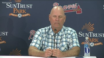 Disappointment behind Braves' NLDS Game 5 loss