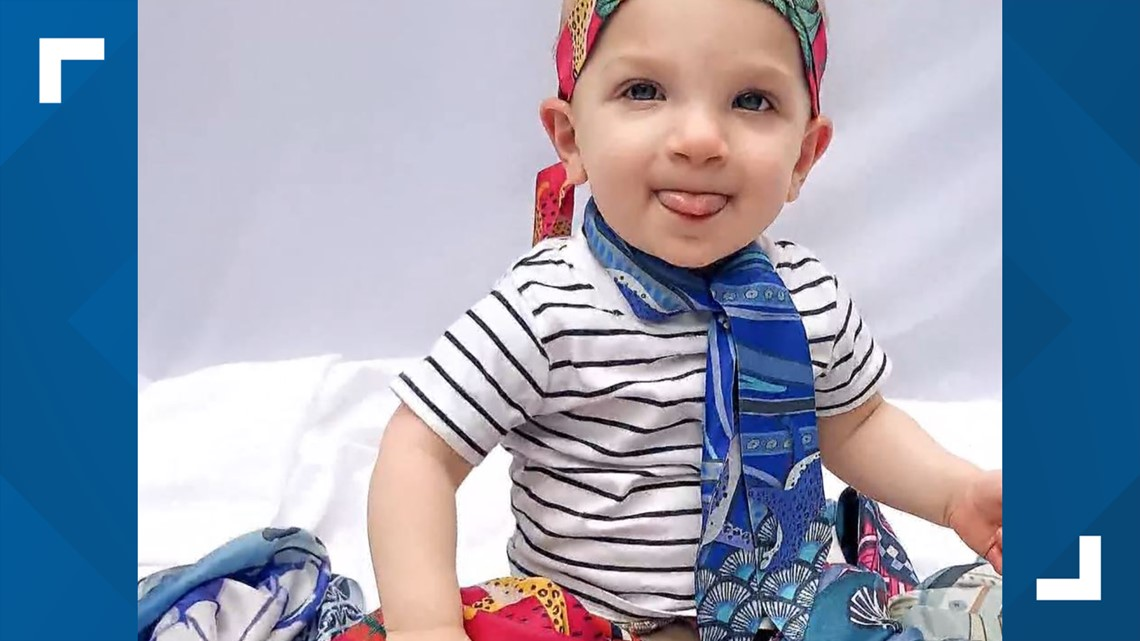 Woman who started business in midst of pandemic using special 'superhero' scarves to donate to child cancer group