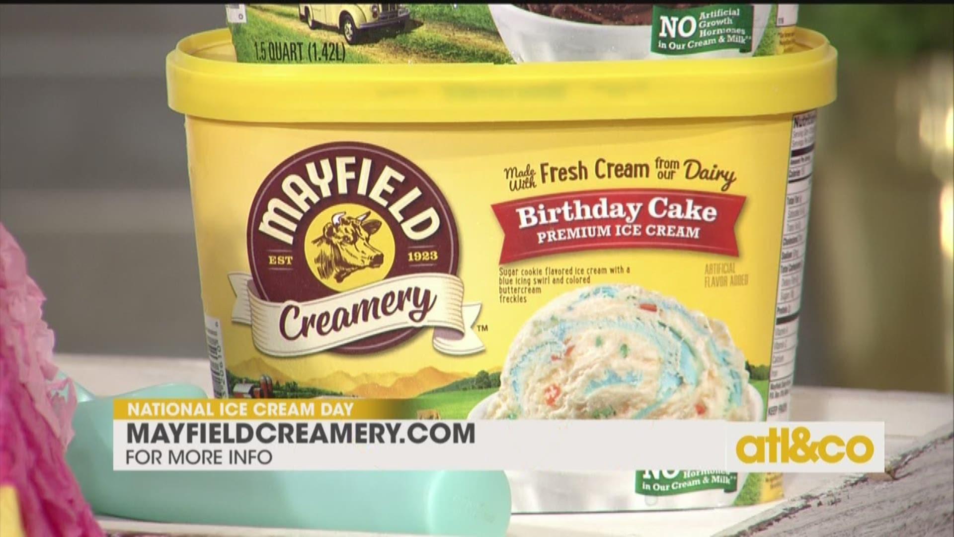 Astounding Celebrate National Ice Cream Day With Mayfield Creamery 11Alive Com Funny Birthday Cards Online Alyptdamsfinfo