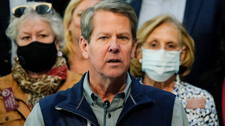 Gov. Kemp addresses Georgia gas shortage
