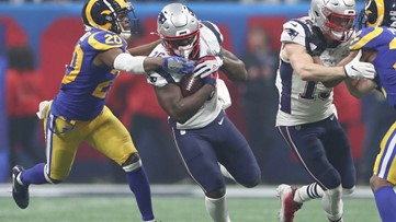 Super Bowl | UGA legend Sony Michel breaks NFL playoff record for rushing TDs