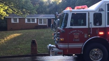 Family of six displaced by Union City house fire