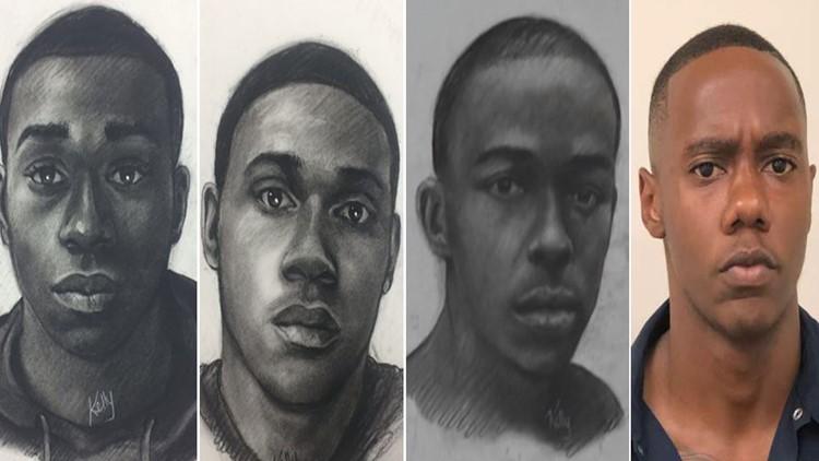 Clayton County alleged serial rapist sketches Kenneth Bowen mug