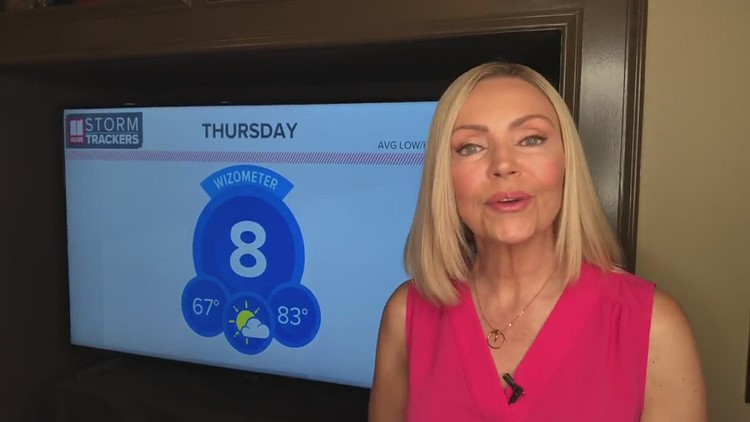 Mostly dry Thursday