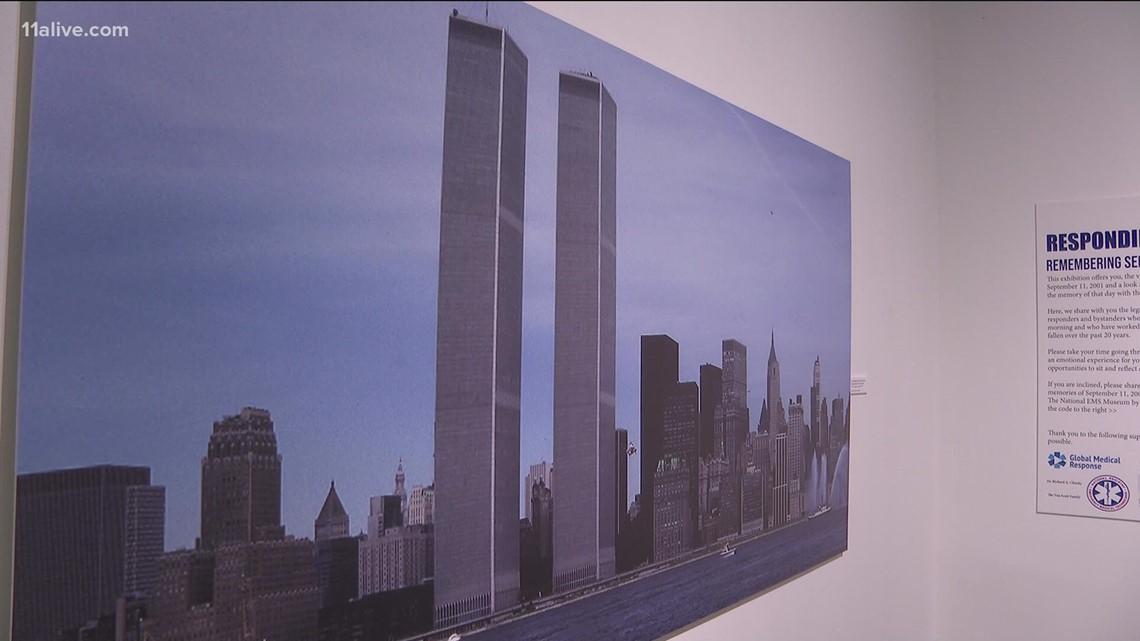 Atlanta exhibit honors 9/11 first responders