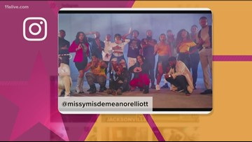 Missy Elliot films new music video in Atlanta featuring The Divine Nine