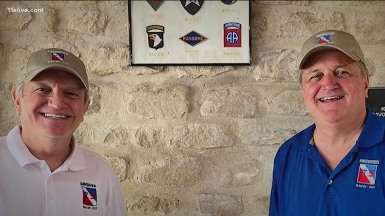 Metro Atlanta man and brother travel to Europe, visit battlefields their father once roamed in WWII