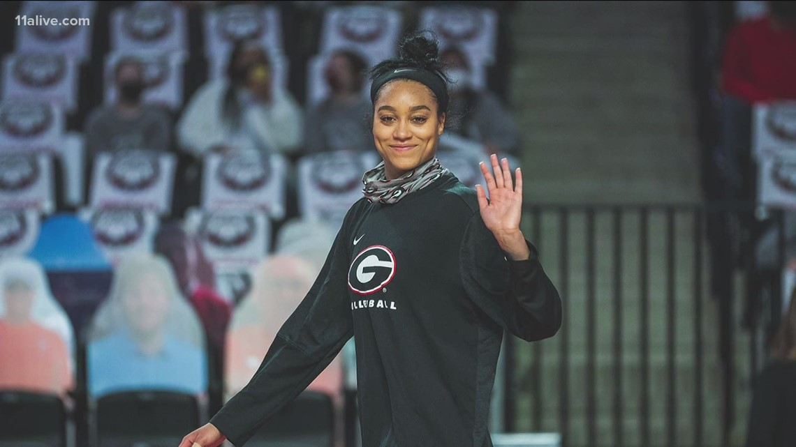 UGA volleyball player creates safe space for black women