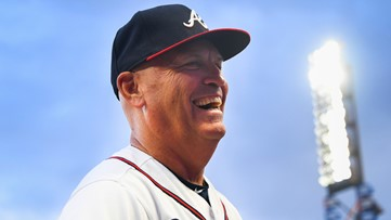 Braves' Snitker honored as top NL manager by Sporting News