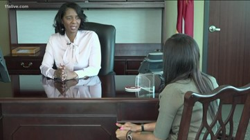She's the first woman, African American to be named as the Cobb district attorney