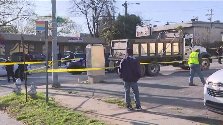 Truck strikes woman in wheelchair, killing her in Atlanta
