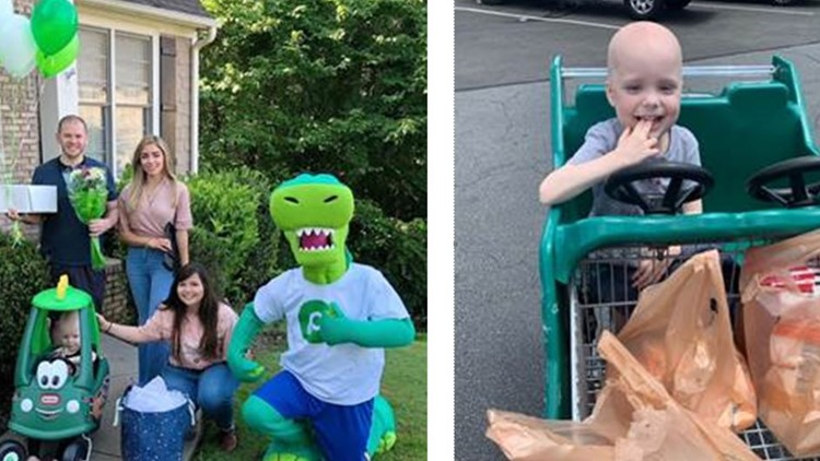 3-year-old leukemia patient surprised with his very own 'Publix Car'