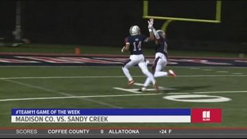 Landmark Dodge Team 11 Game of the Week: Madison Co. vs. Sandy Creek