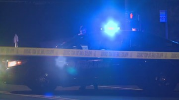 RAW: Police said driver crashed after he was shot by passing driver
