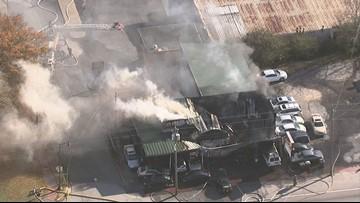 Douglasville business heavily damaged by fire