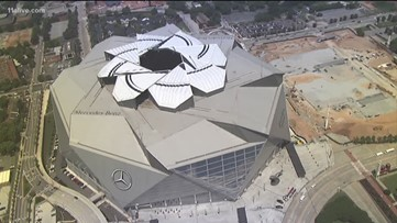 2019 Super Bowl could see open roof at Mercedes-Benz Stadium