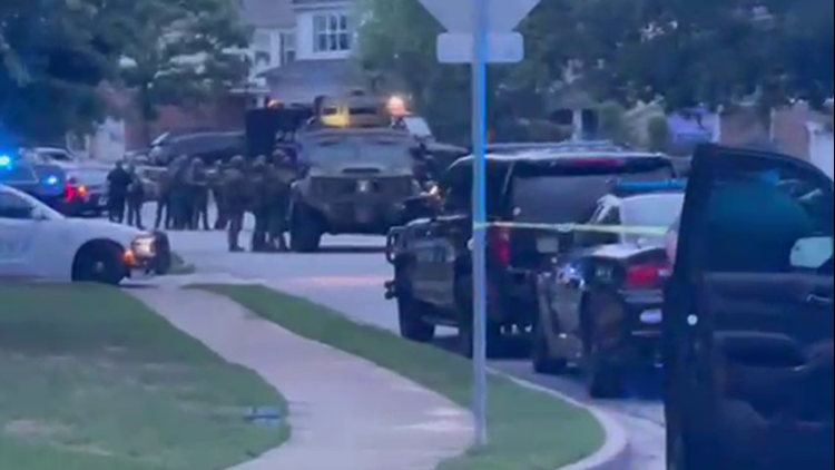 Man shoots son, barricades self inside home before SWAT takes him in custody