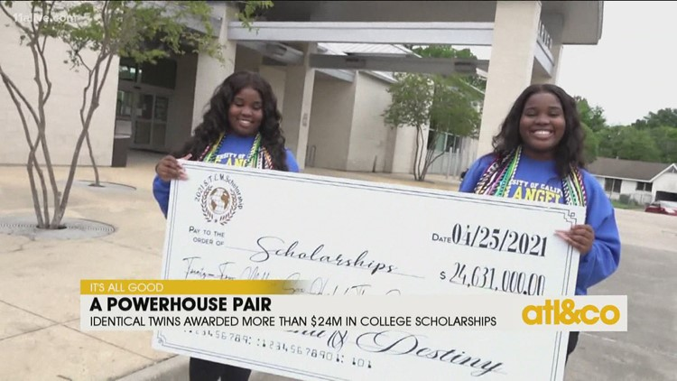 Twins Awarded Over $24 Million in College Scholarships