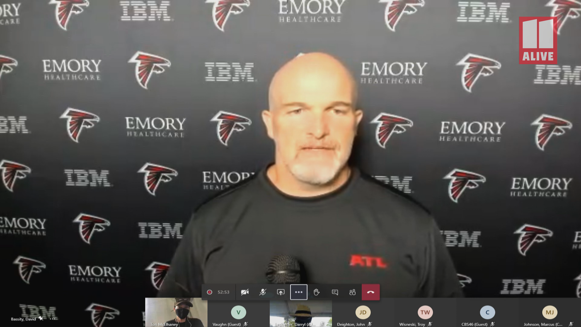Atlanta Falcons Head Coach Dan Quinn On The Larger Picture Of Social Justice 11alive Com