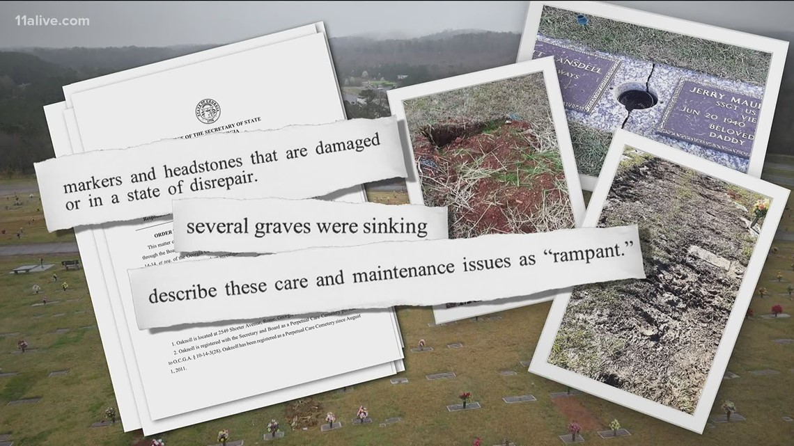 State proposed $753K in fines for Georgia cemetery company after 11Alive investigation