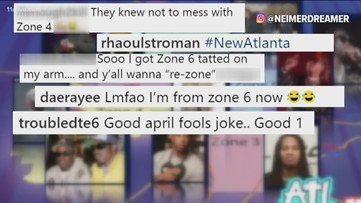 Social media users upset that some Atlanta city zones are changing