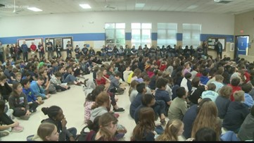 Students in Stone Mountain chat with astronauts aboard International Space Station