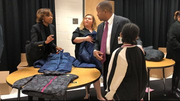'If you ask, you will receive' | East Point city officials sponsor winter coat giveaway