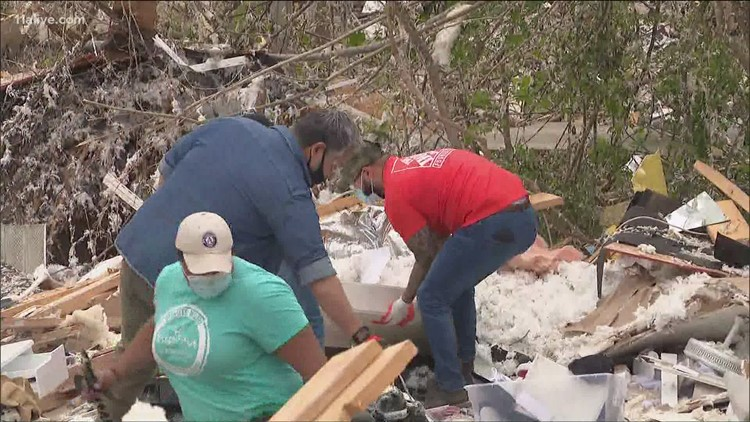 Home Depot helps out with 10-week cleanup effort in Coweta County following tornado