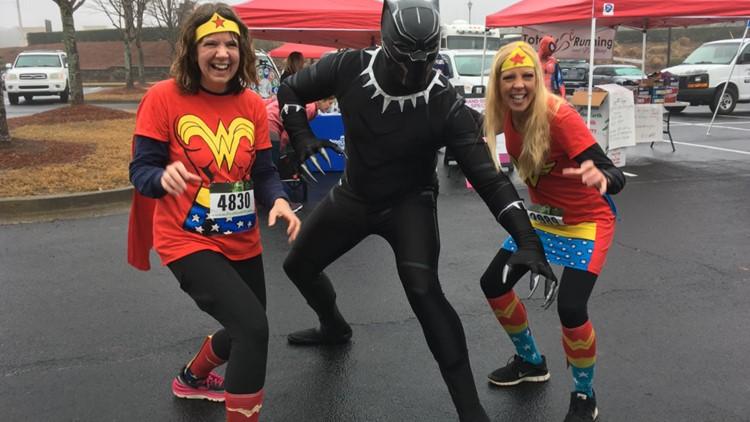 Superhero 5K run happening in Forsyth County this weekend