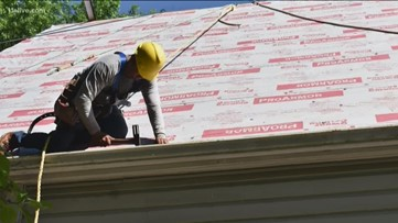 Purple Heart Homes puts roof over vet's head