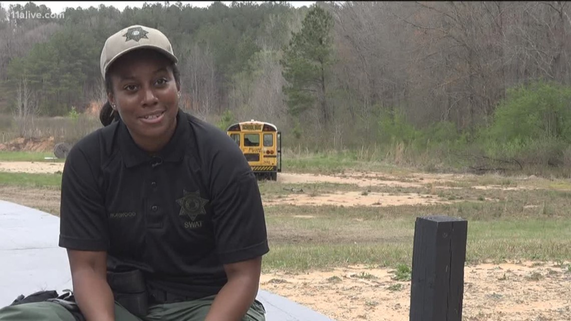 Meet Fulton County's first female sharpshooter and SWAT