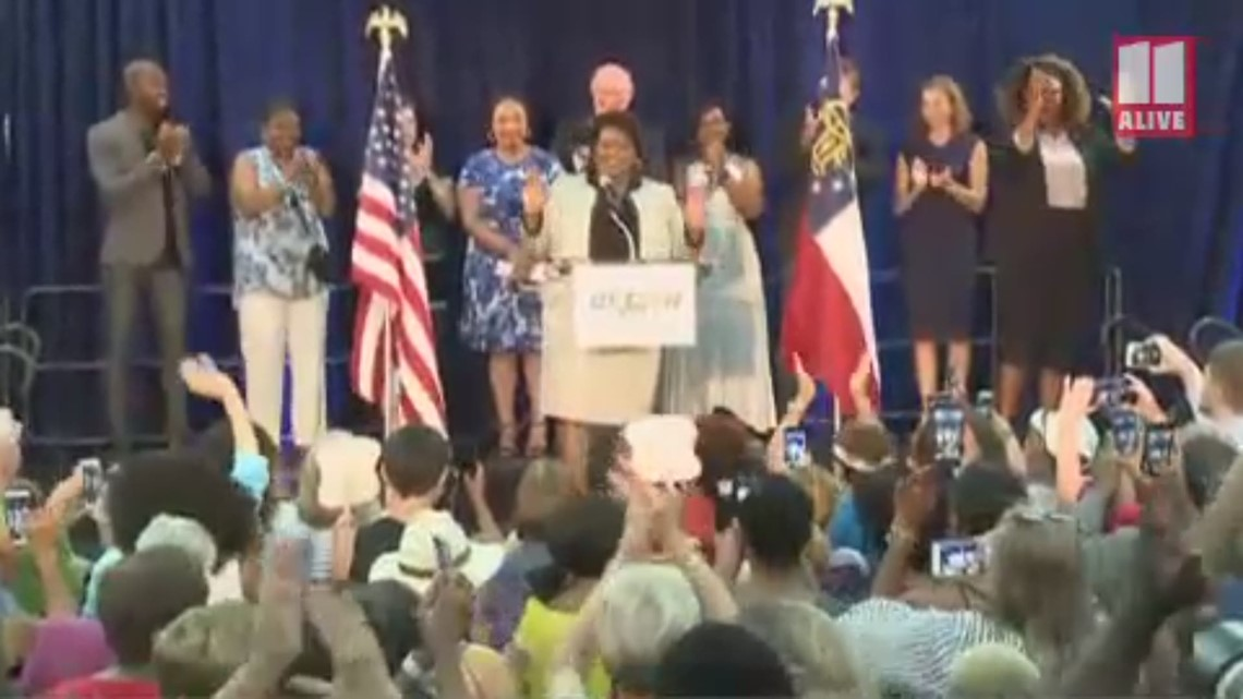 Stacey Abrams brings Fair Fight 2020 to Georgia during speech Saturday in Gwinnett County
