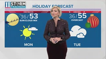 Christmas is right around the corner | A look at the holiday forecast