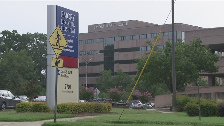 Situation with armed patient 'peacefully resolved' at Emory Decatur Hospital