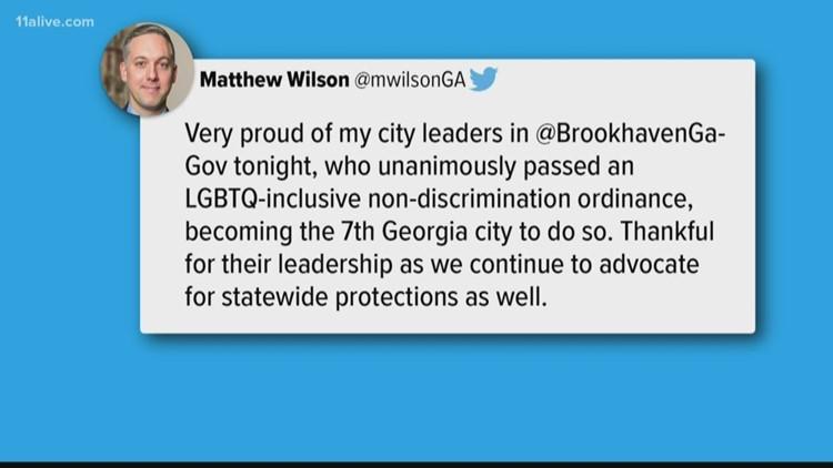 Brookhaven passes ordinance to ban discrimination against LGBT community