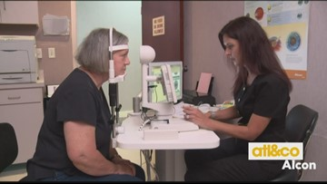 Artist Sees Clearly Again Thanks to New Cataract Technology