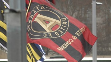 With their victory, Atlanta United made an important change to their logo