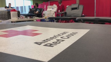 Gwinnett Stipers host blood drive