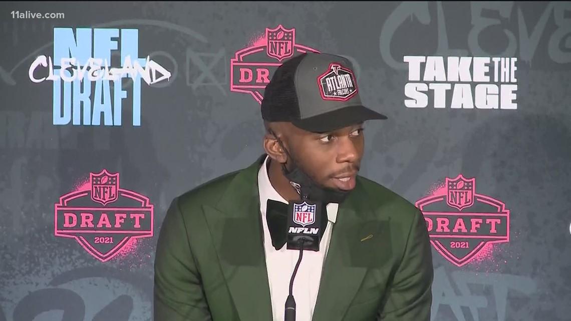 NFL Draft 2021 | Falcons select Kyle Pitts of Florida
