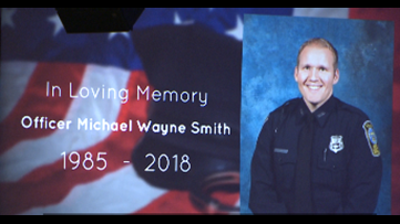 Fallen Officer Michael Smith's name to be added to traveling police memorial