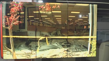 Driver crashes vehicle into DMV in Norcross