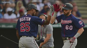 Byron Buxton done for the rest of the season