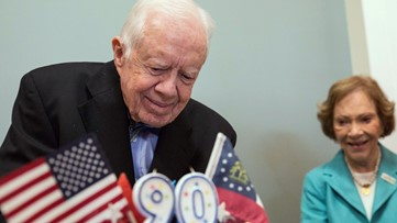 President Jimmy Carter to miss teaching Sunday school due to recent surgery